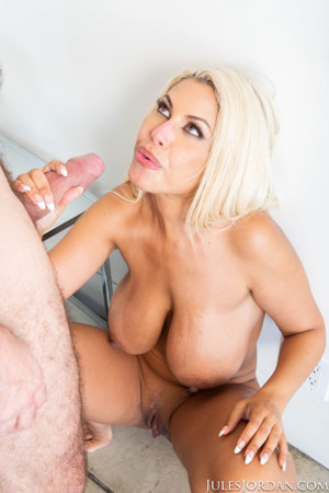 Bridgette B Busty Escort Gives Her Client What His Wife Wont...Her ASS!